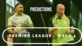 Premier League Predictions! | Can Humphries become the first Challenger to seal victory?