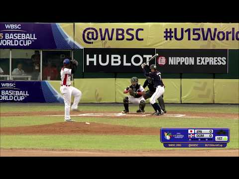 Japan v Dominican Rep - U-15 Baseball World Cup 2018