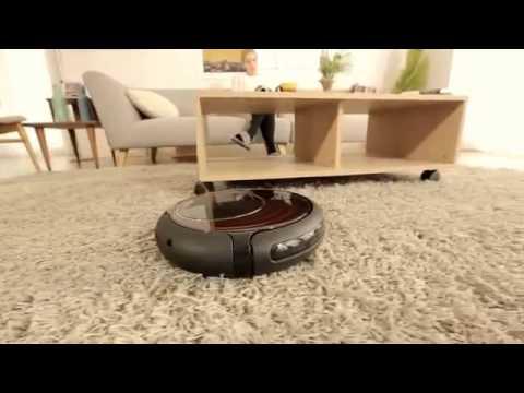 Robot aspirapolvere e lavapavimenti meg7000 youtube for Robot aspirapolvere e lavapavimenti samsung