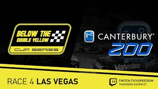 Below The Double Yellow Cup Series / LAS VEGAS Canterbury 200