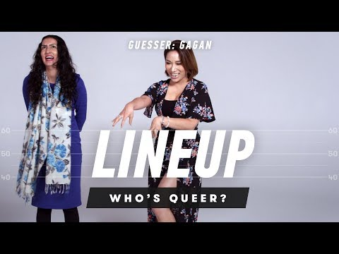 People Guess the Sexual Orientation of Strangers (Gagan) - Lineup