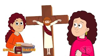 Jesus and Women F๐llowers | Animated Children's Bible Stories | Holy Tales
