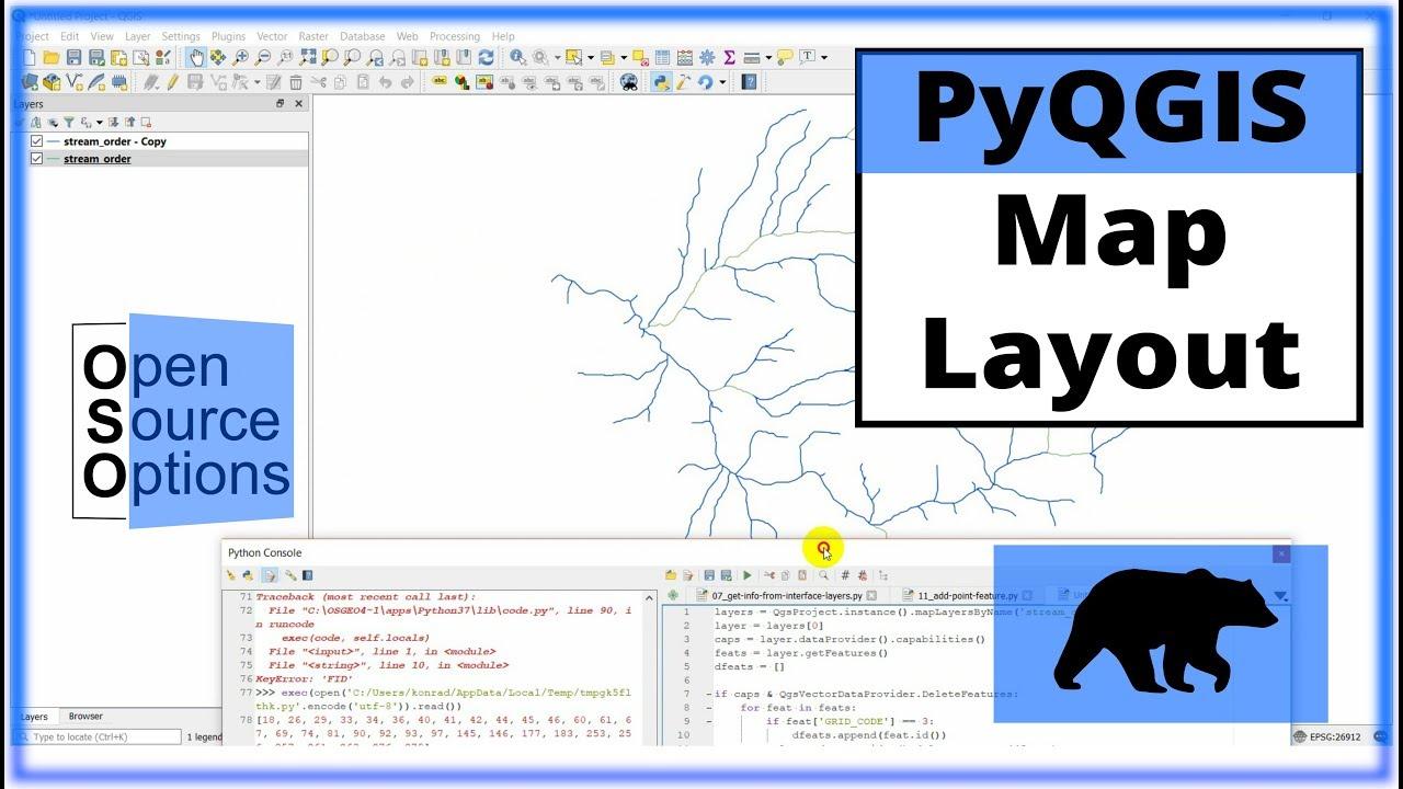 QGIS Python (PyQGIS) - Add layer to a map layout
