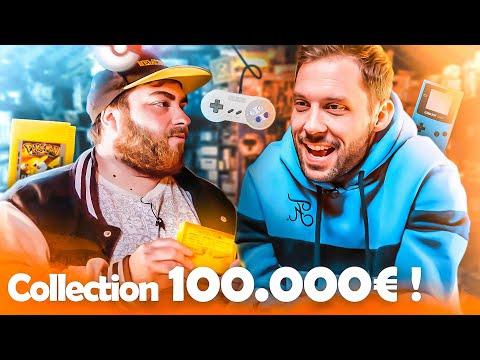 Jeux Vidéo et Consoles de 1977 VS aujourd'hui ! Collection à 100 000€ ( Pokemon, Rayman...)