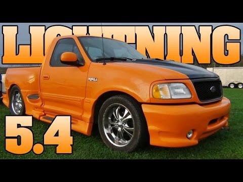 Competition Orange F-150 Ford Truck 5.4 Liter BOSS, Walk Around