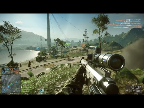 Battlefield 4: Conquest Gameplay (No Commentary) |