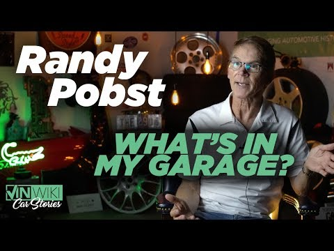 You will never guess what cars Randy Pobst owns personally