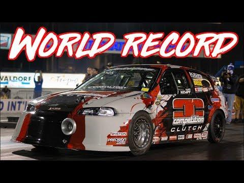 2000HP 2.0L Honda Civic 215MPH in 7 seconds! - Worlds Fastest FWD