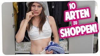10 Arten zu Shoppen | Joyce