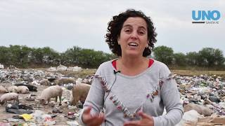 Basurales en la laguna Setúbal revelan un grave problema social y ambiental