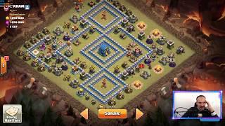 1 Vs 10 Siz Hepiniz Ben Tek Clash of clans