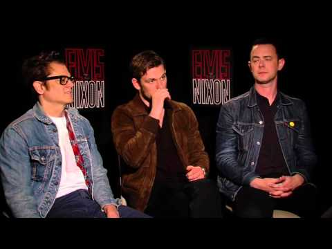 Exclusive Interview: Johnny Knoxville, Alex Pettyfer And Colin Hanks Talk Elvis & Nixon [HD]