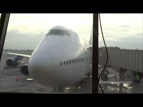 Delta Boeing 747 In-Flight Manila To Narita Economy Experience