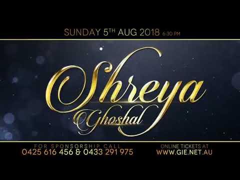 Shreya Ghoshal Live in Melbourne - Promo I...