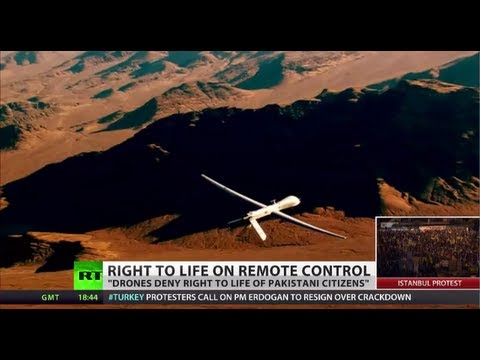 'US Drone strikes in Pakistan negate right to life'
