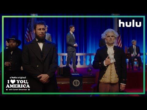 Sarah Silverman Visits The Hall of Presidents  I Love You, America on Hulu