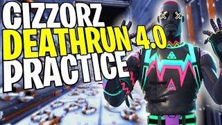CIZZORZ DEATHRUN 4.0 PRACTICAL | Code Garfunkl3 | PC Gaming | Creative Fortnite