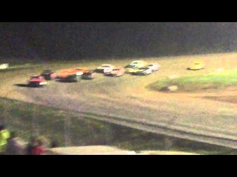 34 raceway 5-9-15 stock car feature pt2