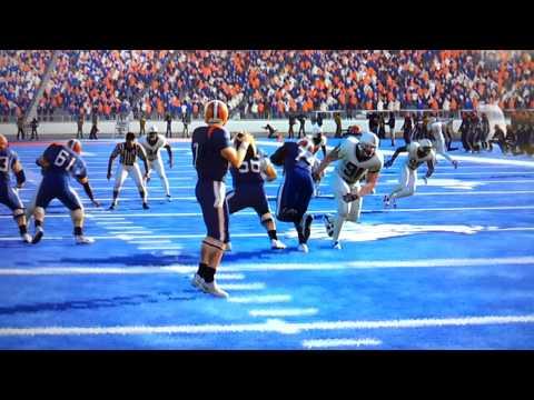 Blue Mountain State NCAA FOOTBALL Dynasty: Game 1, Season 1 Moran To Dortch