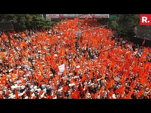Maratha Kranti Morcha In Mumbai - Protest For Reservation