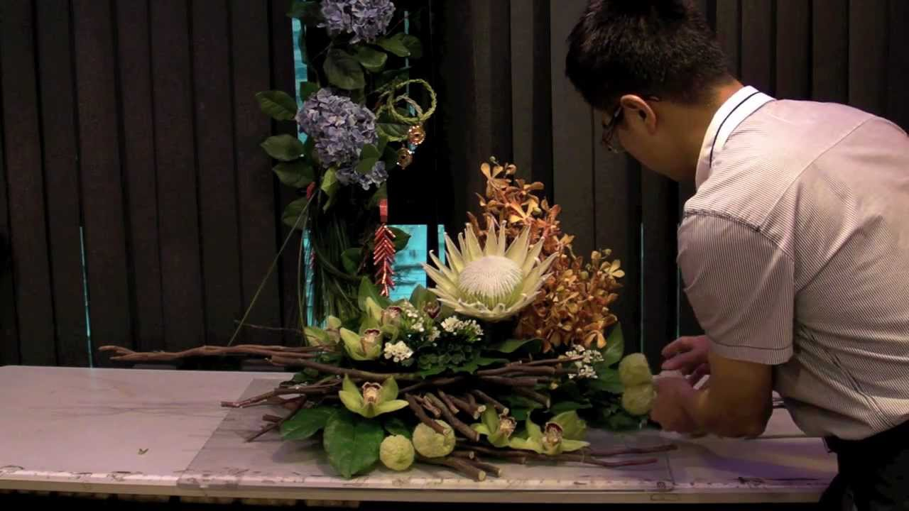 B14 Flower Arrangement,フラワーアレンジメント,arranjo De Flores,插