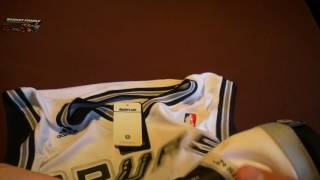 Баскетбольная форма NBA клуб San Antonio Spurs Tim Duncan белая магазин BASKET FAMILY