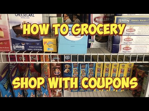 How to Grocery Shop with Coupons. Couponing for Beginners