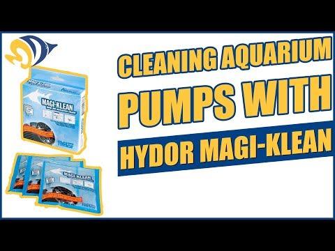Cleaning Aquarium Pumps With Hydor Magi-Klean
