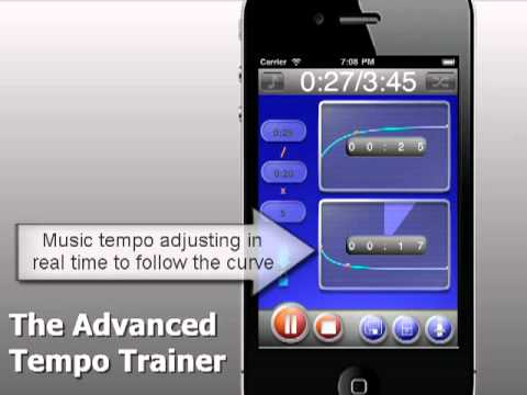 TempoTrainer - iPhone Interval Training with music tempo