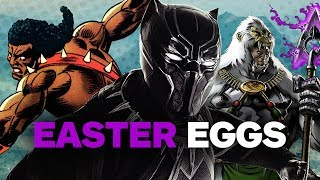 Black Panther EASTER EGGS, References & Trivia