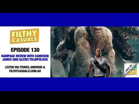 Episode 130: Rampage Review with Cameron James and Alexei Toliopolous