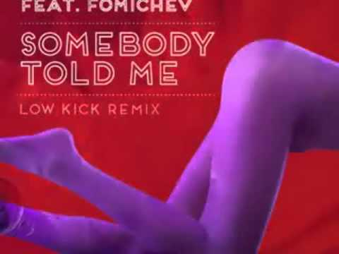 The Killers feat  Fomichev - Somebody Told Me (Low kick mix)