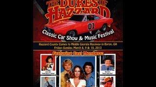 "2013 ""The Dukes of Hazzard Reunion"" in Byron, GA March 8-10 2013"