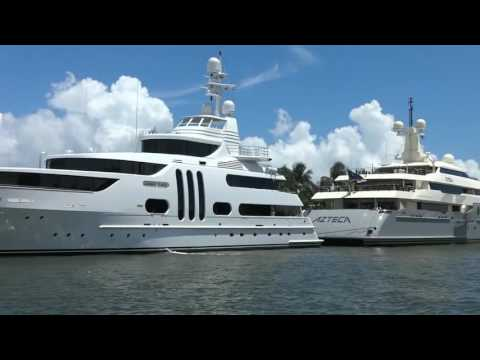 Fort Lauderdale FL.Luxury Super Yachts and Boats