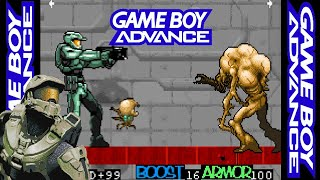 COMBAT ADVANCED (HALO 4 GBA)「HOMEBREW SOFTWARE」- GAME BOY ADVANCE HOMEBREW.