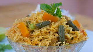 How to make | vegetable biryani | recipe | Home made