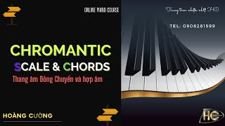 How to play Piano nhạc nhẹ | Chromantic Scale & Chords | Piano Tutorial