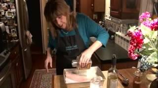 Saltine-parmesan Crusted Walleye