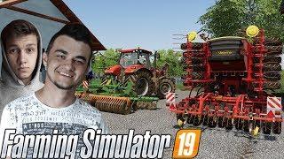 Farming Simulator 19☆ Talerzowanie i Siewy Nowym Nabytkiem !☆ ✔ Sąsiedzkie Zmagania #12