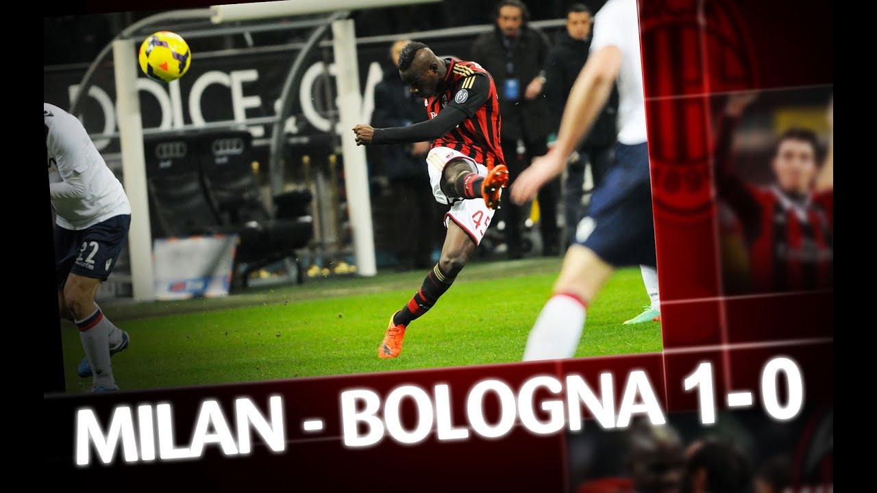 AC Milan | Milan-Bologna 1-0 Highlights - YouTube