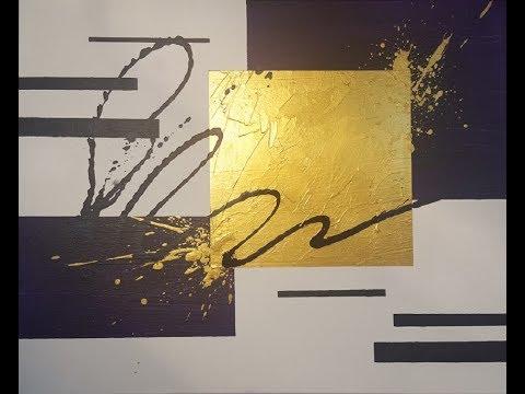 "Abstract Painting Demo ""Mazani"""