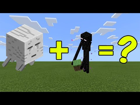 I Combined A Ghast And An Enderman In Minecraft - Here's WHAT Happened...