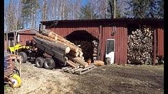 Tuoda kotiin polttopuun