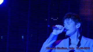 a-ha live - The Blood That Moves the Body (HD) Ullevaal Stadium, Oslo 21-08-2010