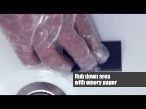 How To Fix My Bath Using The Anglo Acrylic Bath Repair Kit