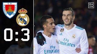 Gareth Bale trifft vom Punkt: Numancia - Real Madrid 0:3 | Highlights | Copa del Rey | DAZN