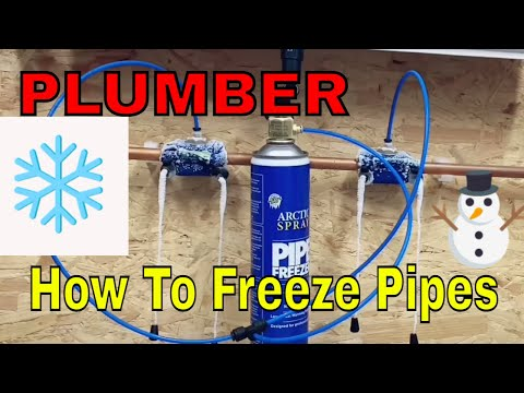 How To Freeze Pipes With Arctic Spray Pipe Freezer Pro Kit