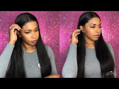 AliExpress Wig  Affordable $117 Bone Straight Pre Plucked Lace Front Wig  Alibele hair
