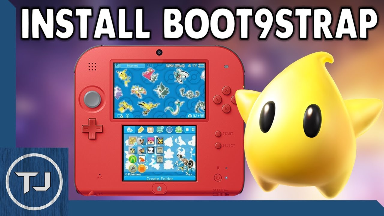 3DS Install Boot9strap (Replace Arm9loaderhax) (Update Luma 7 1 Fix)