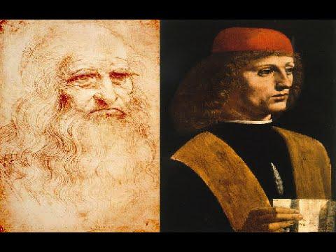 video mostra del ritratto di musico di leonardo da vinci opera del 1485 rinascimento italiano. Black Bedroom Furniture Sets. Home Design Ideas